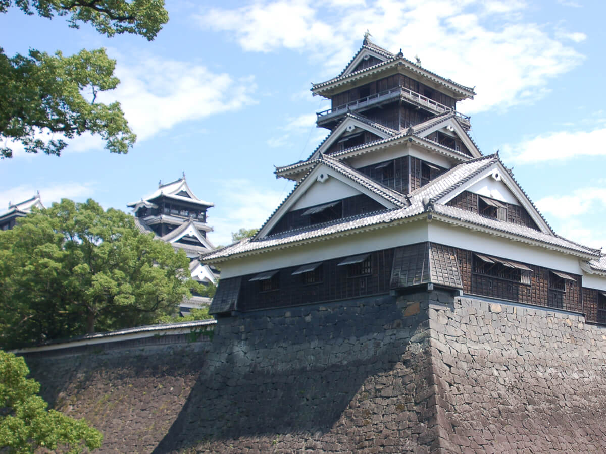 Uto Turret and two other constructions, Kumamoto Castle
