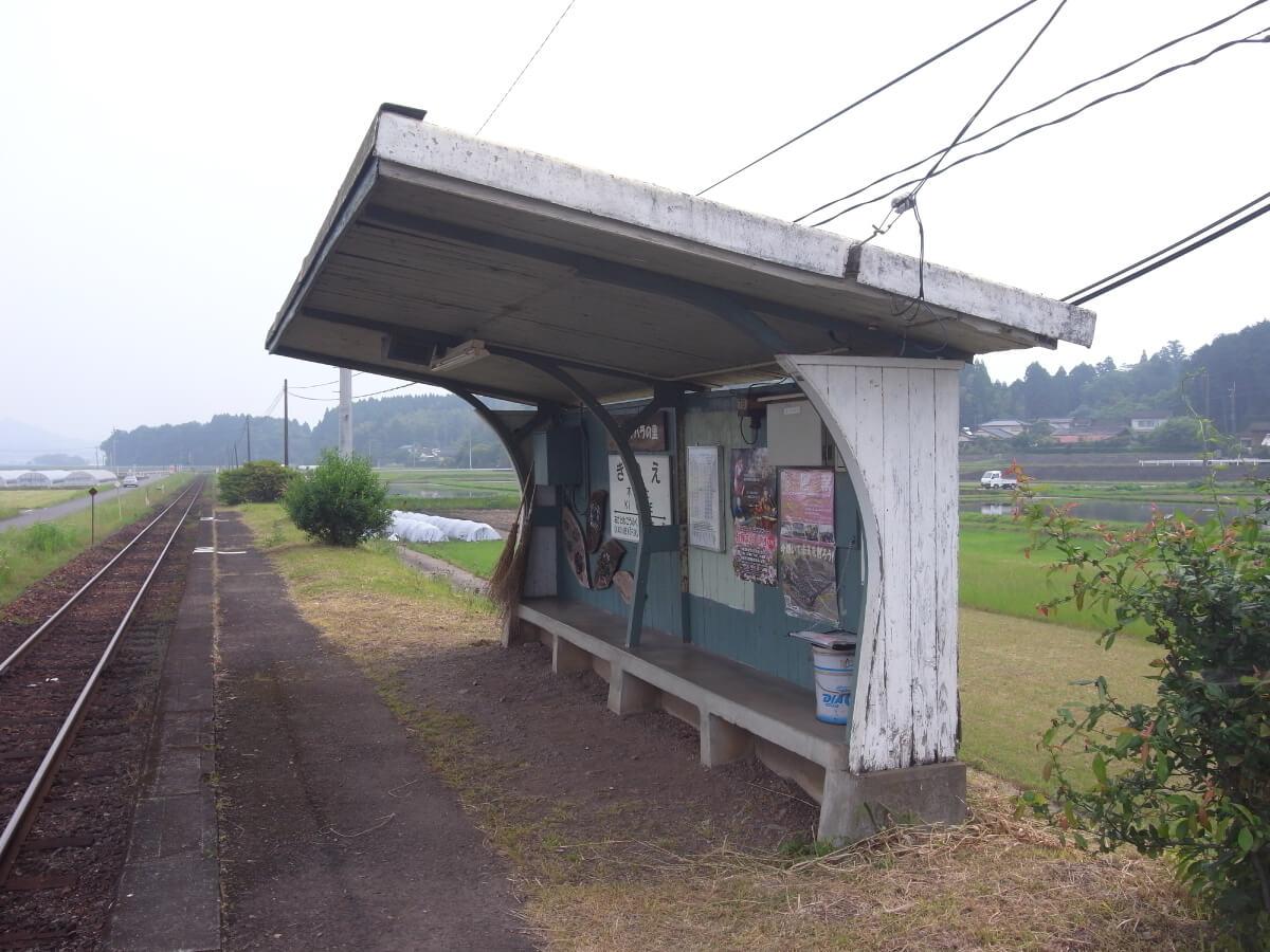 くま川鉄道_木上(きのえ)駅