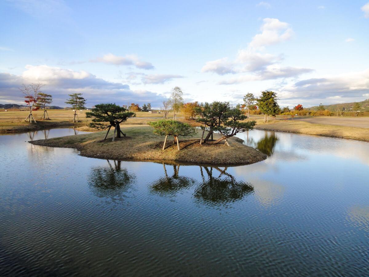 柳之御所遺跡 堀内部地区