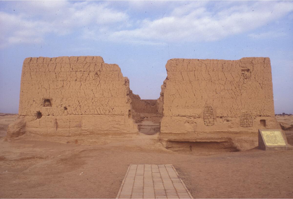 交河故城遺跡