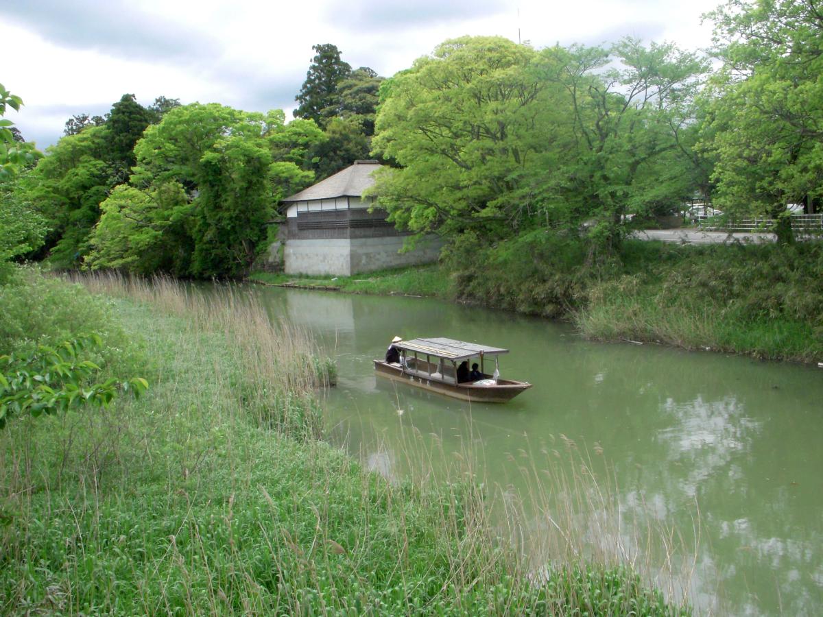 加賀市歴史文化基本構想_-対象地域の一例(大聖寺城下町区域)
