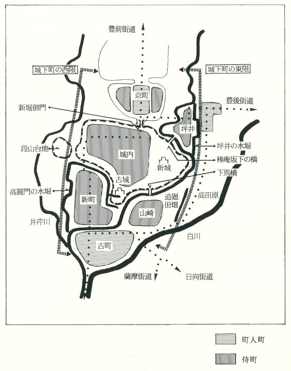 歴史回廊都市くまもと_初期の熊本城と城下町