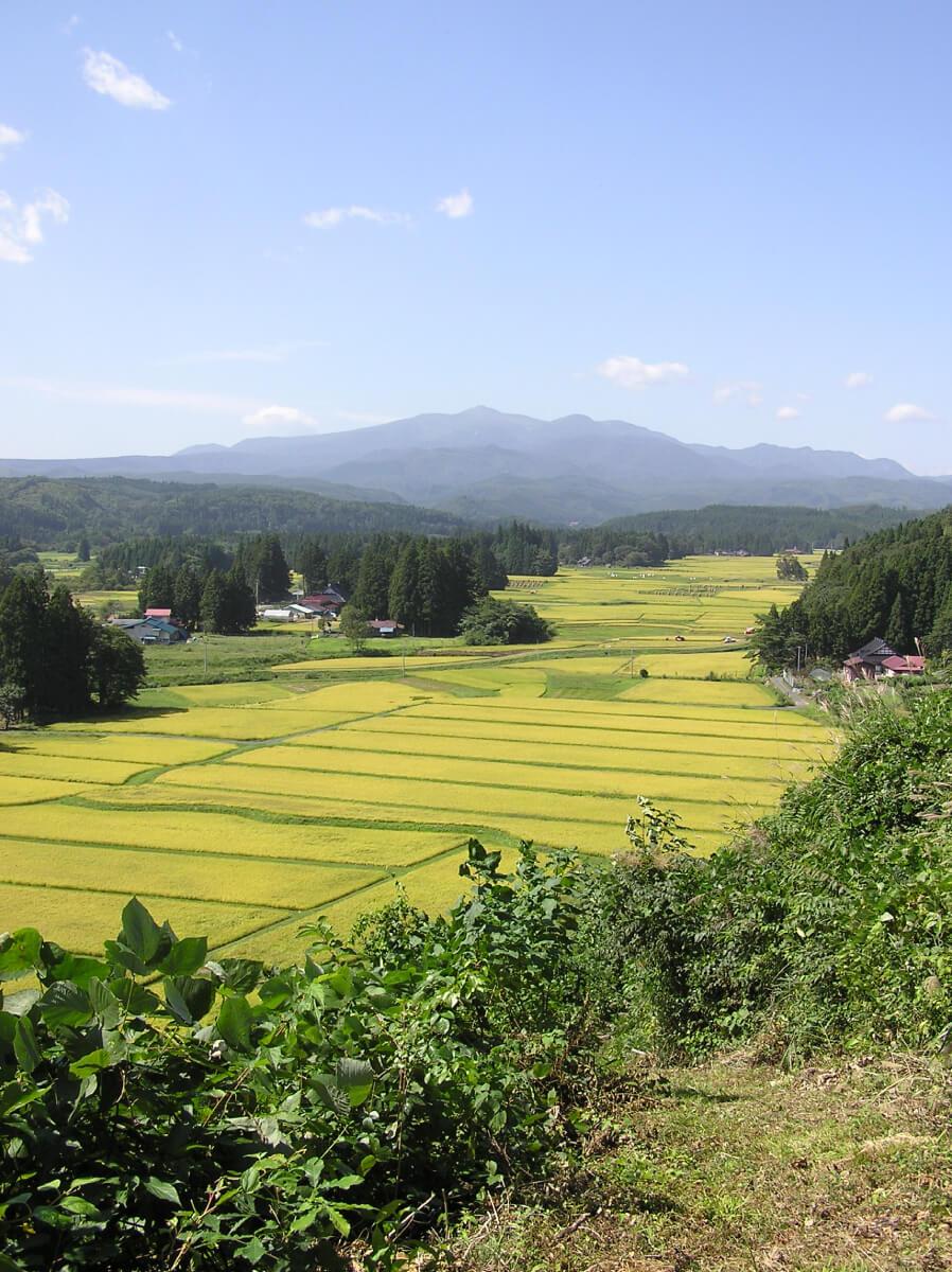 一関本寺地区の農村計画_一関本寺地区の農村景観