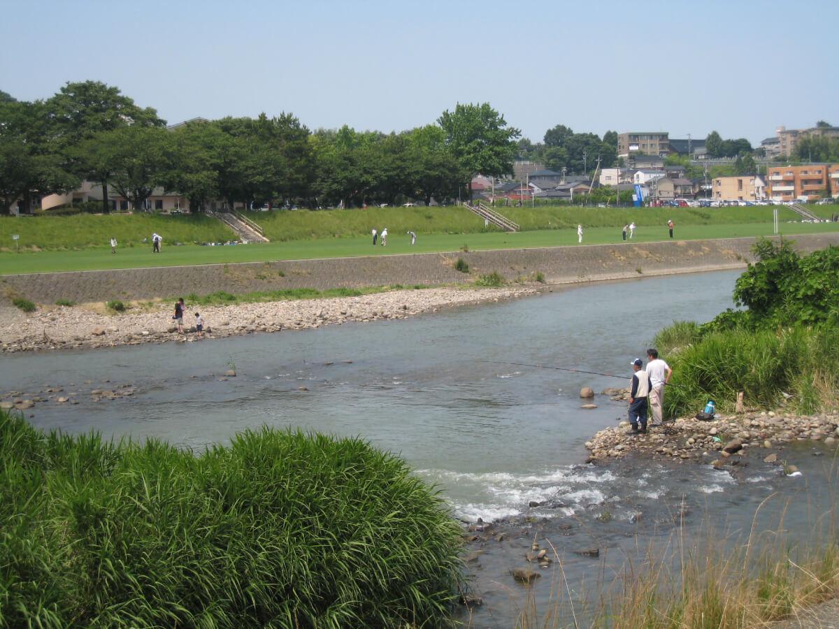金沢の文化的景観-城下町の伝統と文化_対象地域の文化的景観一例